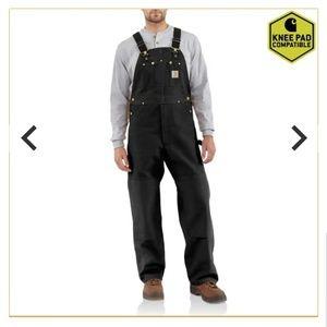 Carhartt Overall Duck Bib Suspenders